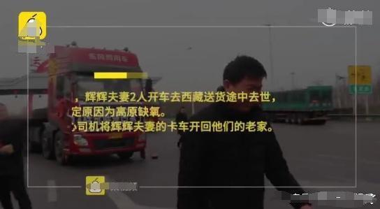 卡车夫妇辉哥辉嫂回家了 青藏线那么危险为什么还有那么多卡车司机奔波?