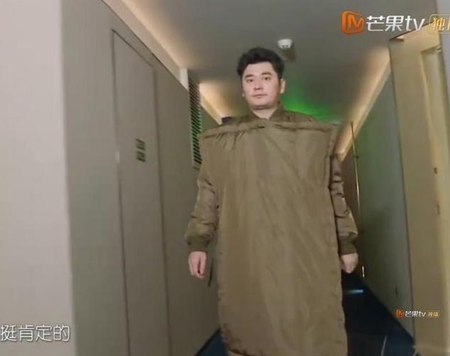 钱枫的衣服是什么鬼?钱枫价值上万的棉被外套让人看不懂