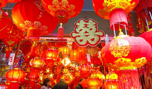 威彩国际威彩平台:张灯结彩迎新春