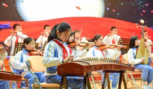 2019年泉州市实小学举行新年音乐会