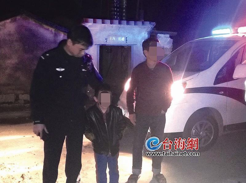 怙恃打骂9岁男孩与家人走散 子夜在马路下行走