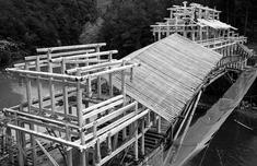 寿宁武溪:传统武艺营建廊桥 再现木匠艺之美