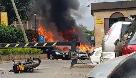 肯尼亚旅店爆炸还传出枪声现场图曝光 肯尼亚旅店爆炸原形揭秘