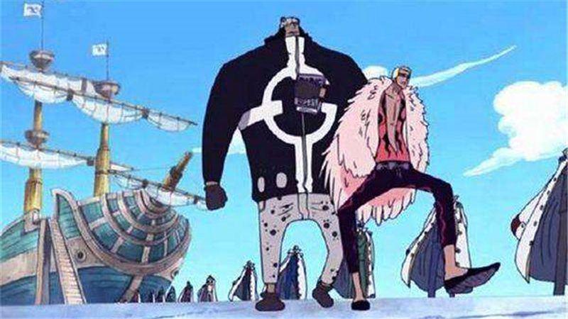 海贼王:海军也可以很霸刀 古兰特和隆兹都不屑四皇