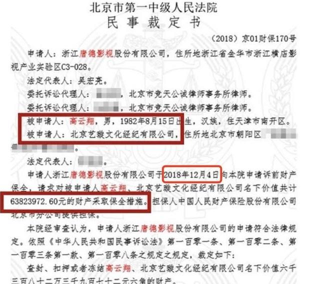 董璇6000万遭冻结变卖奢侈品疑补家用 高云翔旧鞋也被卖?