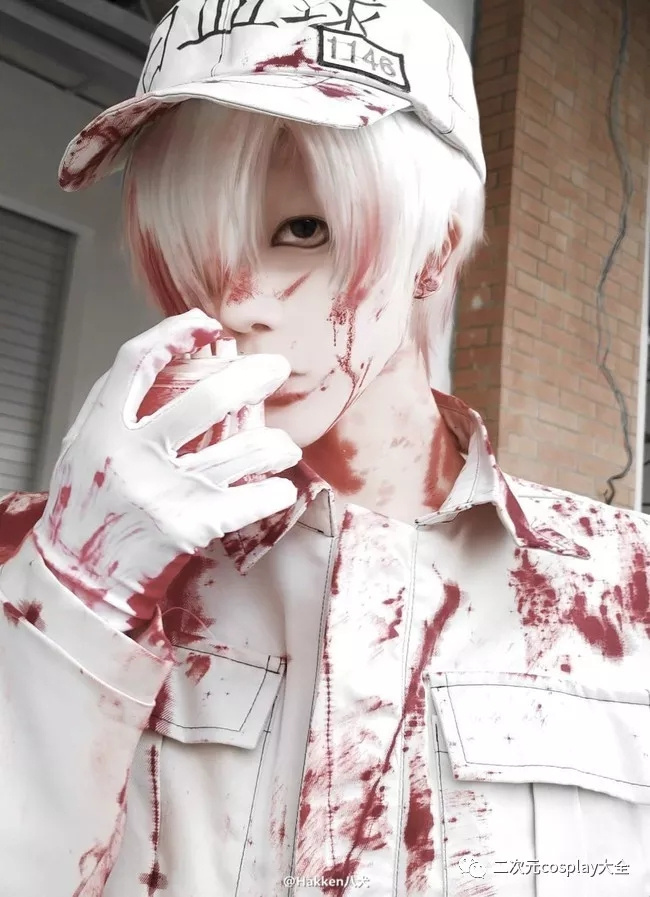 工作细胞白血球cos 一席白衣确定是白细胞本人!