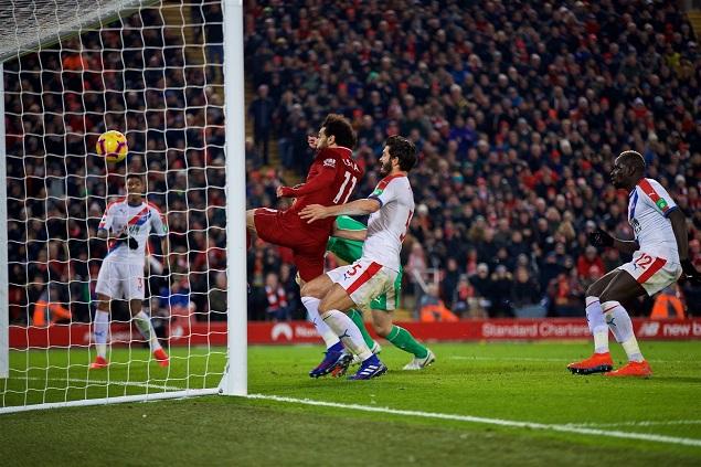 利物浦逆转水晶宫战况激烈!这场球逆转绝杀红牌打架什么都有