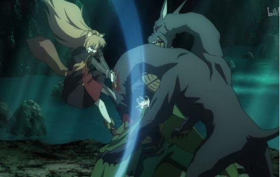 盾之勇者成名录12:拉芙塔莉雅恐战,尚文让她跑