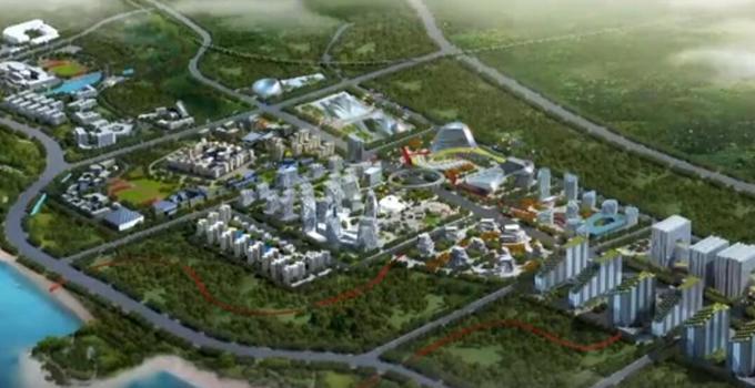 """网龙海边造""""魔法城堡"""" 数字中国教育小镇颇具规模"""