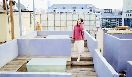 """福州""""网红""""天台:废旧天台成浪漫拍照圣地"""