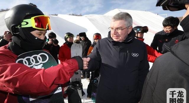 国际奥委会主席巴赫考察冬奥场馆 点赞中国效率