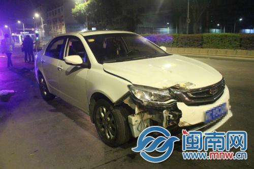 泉州:男子醉驾撞车花钱私了 找朋友回现场摆拍被识破