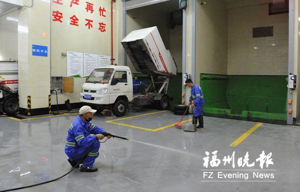 福州6000多名环卫工人春节坚守岗位