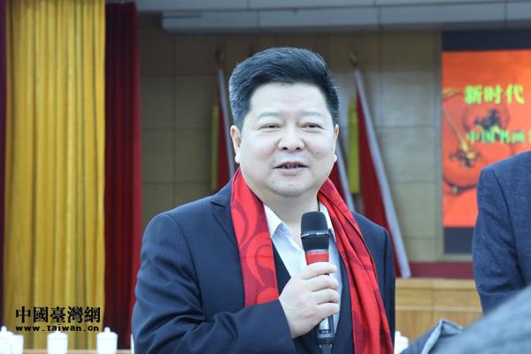 中国书画名家走进中央台办迎春联谊活动在京举行