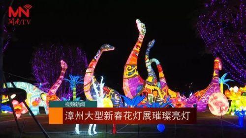 漳州2019猪年新春花灯展亮灯了!观赏时间攻略看这里