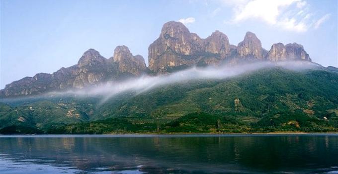 漳州温和通达山正式定名国度地质公园