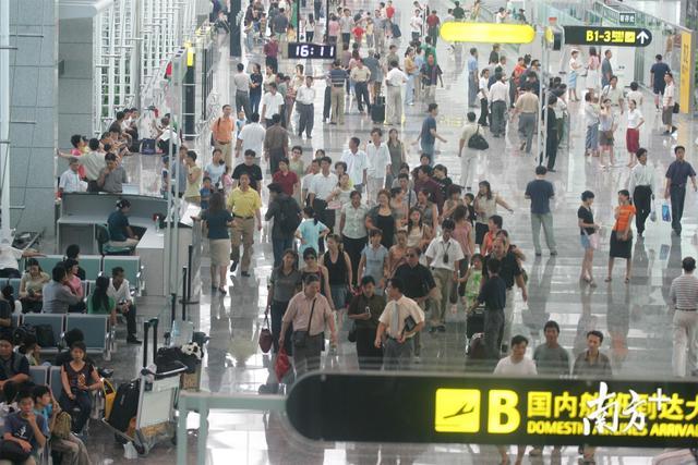 返程高峰持续 白云机场单日客流量将超22万人次持续到年十三