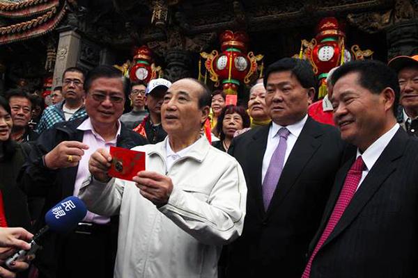 王金平参选2020:时间已定好 一个月内宣告参选