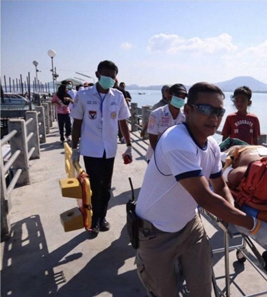 泰国普吉两船相撞致多名中国游客受伤 事故原因查明:快艇方向盘失灵