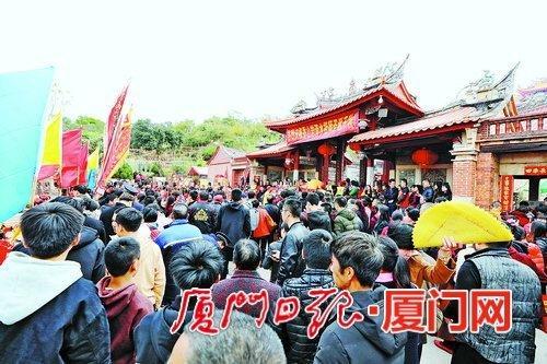 厦门翔安香山景区春节假期接待游客69万人次 体验喜庆年味