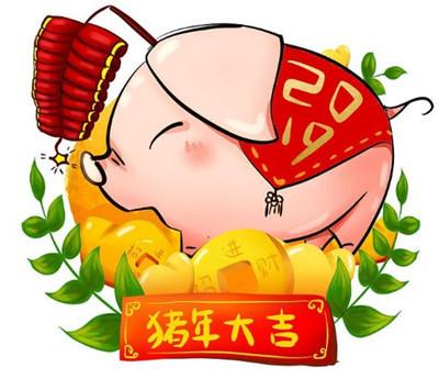 2019猪年招财头像大全 2019猪年微信招财头像图片