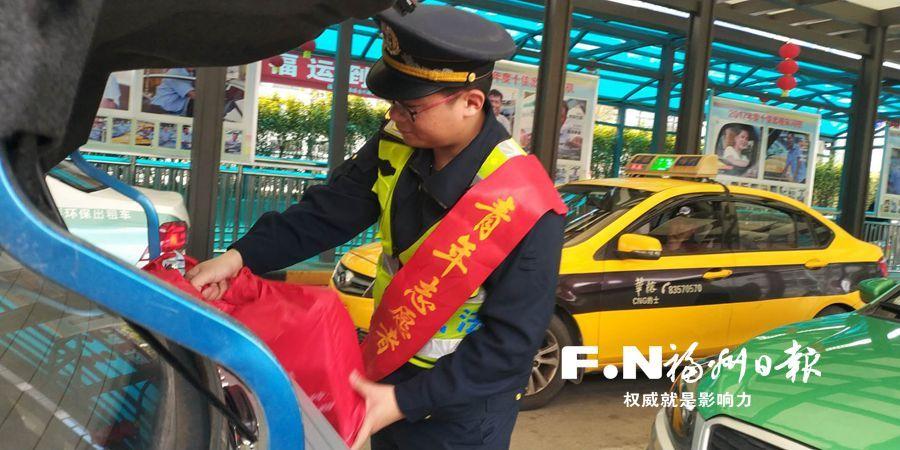 福州市交通综合行政执法支队执法人员春节坚守岗位