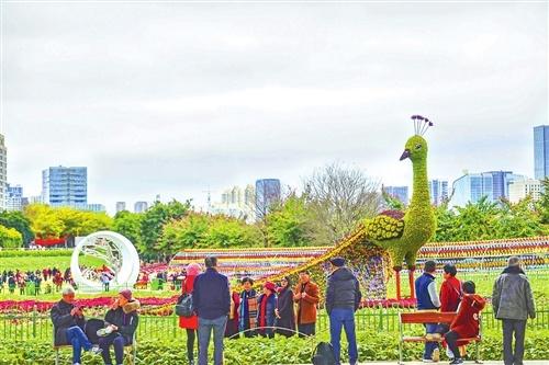 这个春节 福州公园新意多