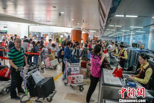 民航局:2019年春节假期民航运送旅客1258万人次