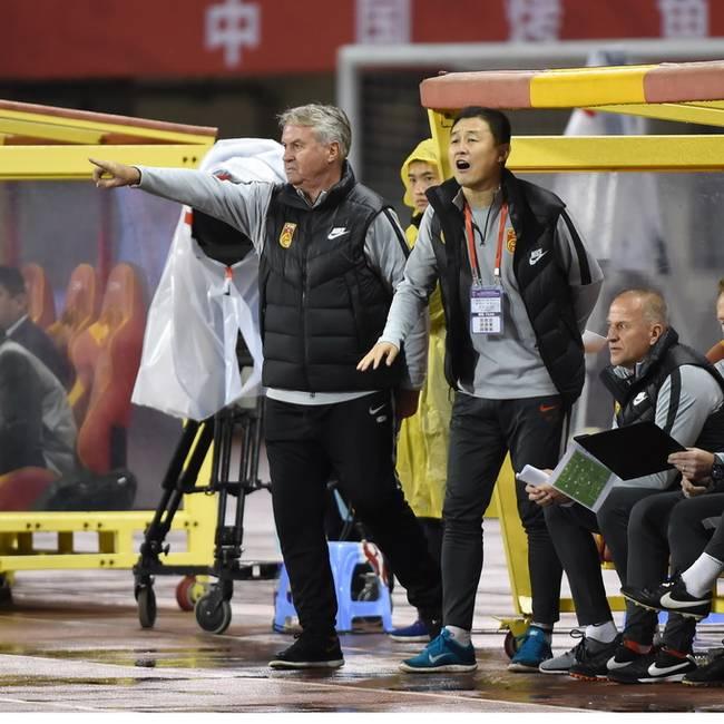 足协高层组团督战 U25集训队战中国杯