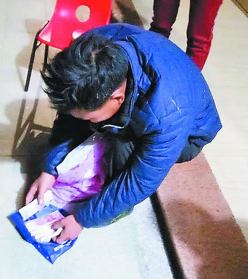 厦门军营村一村民丢失3.5万元血汗钱 警方4个小时帮找回