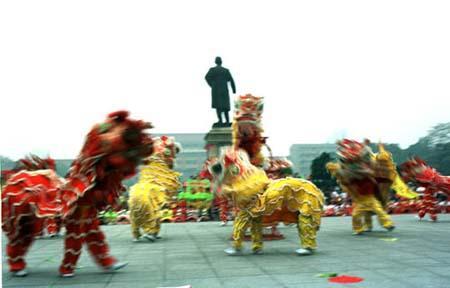 广州非遗第一课 醒狮贺岁闹元宵