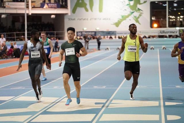 中国田径喜讯 苏炳添开门红60米首秀6秒52夺冠