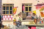 """旧校舍""""变身""""艺术中心 闽南风墙绘点""""靓""""乡村"""
