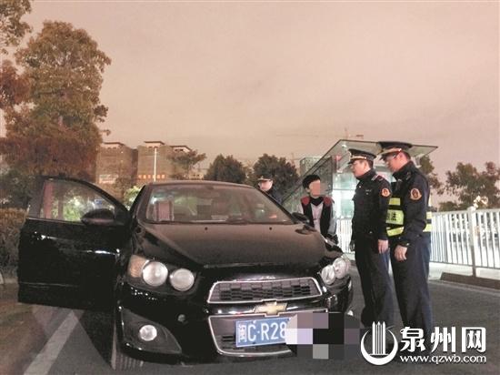 """应对返程高峰 晋江机场车站同步展开 查处""""黑车""""19起"""