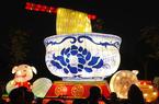 福州元宵灯会昨晚试亮灯 吸引市民赏灯