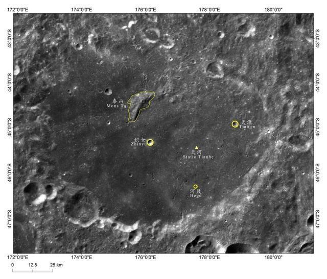 嫦娥四号天河基地在哪里?嫦娥四号传回来的影像图曝光