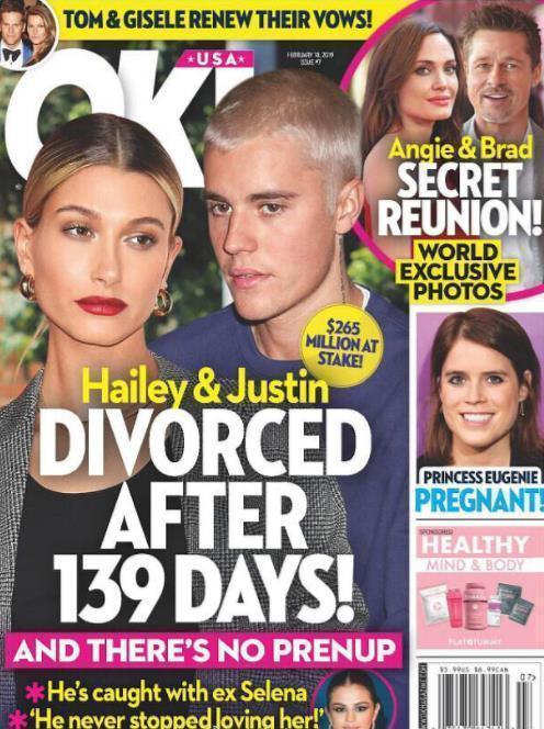 比伯方否认离婚怎么回事 比伯海莉为什么被传离婚真相是啥