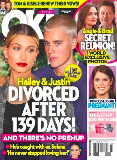 比伯方否认离婚最新消息,比伯密会赛琳娜怎么回事