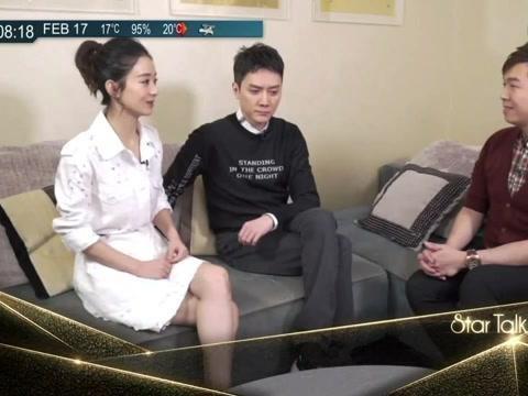 冯绍峰赵丽颖谈为孩子起名,他脱口而出4个名字,颖宝狂笑
