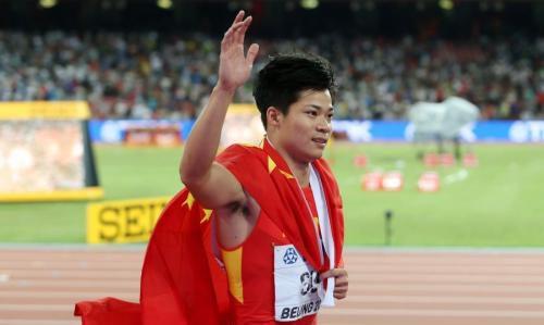 苏炳添6秒47夺冠现场冲刺图回顾 苏炳添创赛季世界最佳