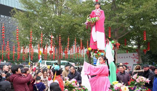 2019年海峡两岸民俗文化节在福州举行