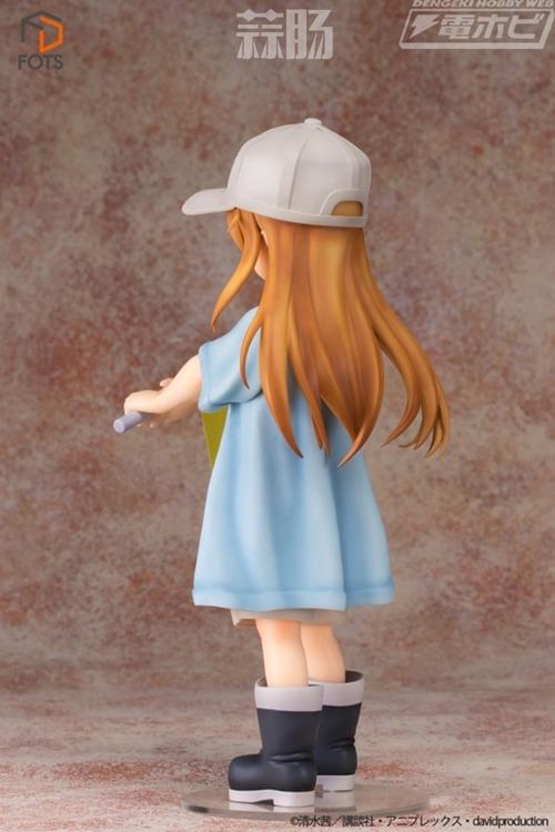《工作细胞》血小板手办阵容公布 身高22cm定价13800日元