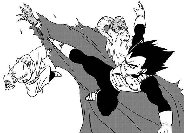 龙珠超漫画45话:魔罗恢复最强状态,狂虐布罗利