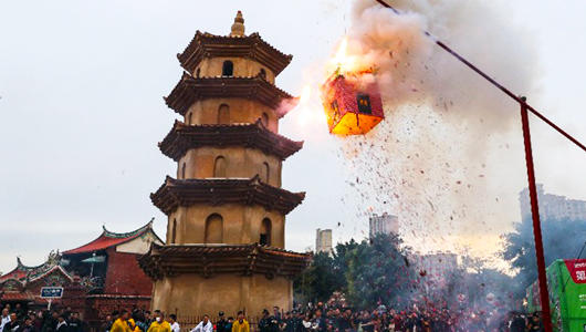 晋江安海举行第三届晋江市(安海)元宵文化节