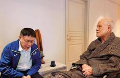 李登辉面劝柯文哲:要出来选2020