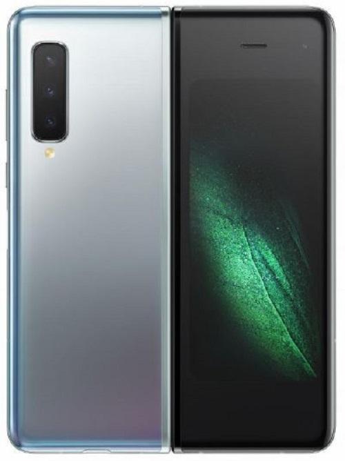 三星电子发布的折叠式5G手机图片