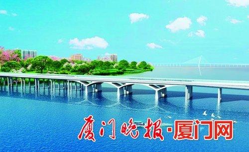 金沙国际娱乐场欢迎您东坑湾大桥将建设两年内竣工 翔安西路预计2021年贯通