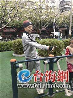 """澳门银河娱乐网站一退休老人 """"花式 """"健身赶走一身病痛"""