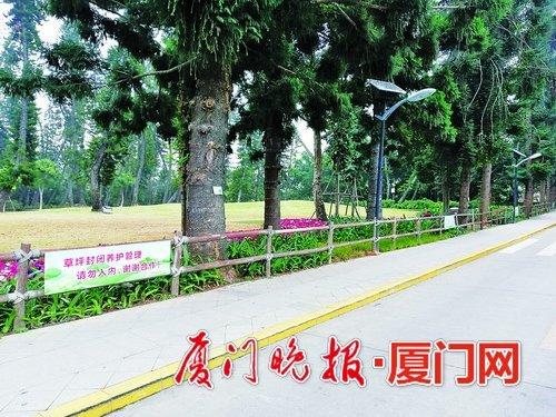 """金沙国际娱乐场欢迎您植物园南洋杉草坪""""休假"""" 预计4月29日重新开放"""