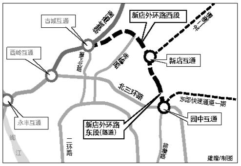 """意彩娱乐北""""3.5环""""后年建成通车"""